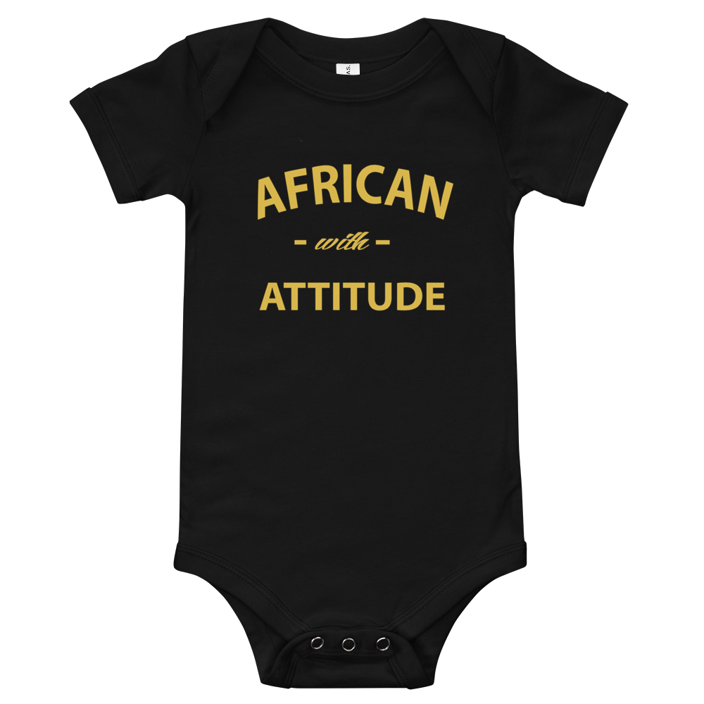 Bodies SIORS® African With Attitude  Manches courtes Pour Bébé - SIORSCLOTHING
