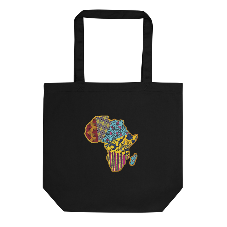 TOTE BAG BIO WAX AFRICA MAP