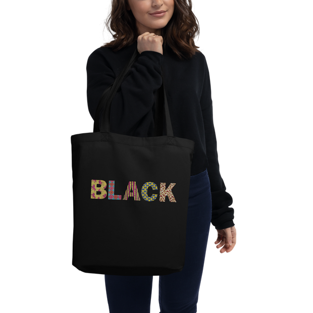 TOTE BAG BIO WAX BLACK