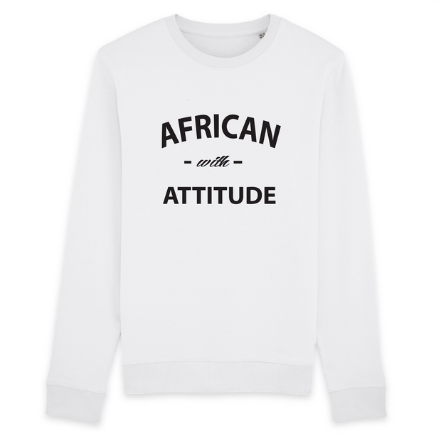 SWEATSHIRT SIORS® AFRICAN WITH ATTITUDE - SIORSCLOTHING