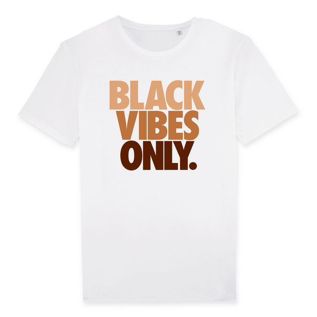 T-SHIRT SIORS® BLACK VIBES ONLY - SIORSCLOTHING Vétements