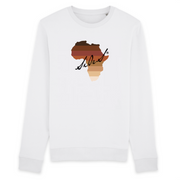SWEAT COL ROND UNISEX 100% ORGANIC🌿SIORS® AFRISHADE BROWN - SIORSCLOTHING