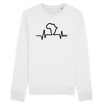 SWEATSHIRT SIORS®  AFRICA HEART BEAT - SIORSCLOTHING