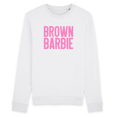 SWEATSHIRT SIORS®   BROWN BARBIE - SIORSCLOTHING