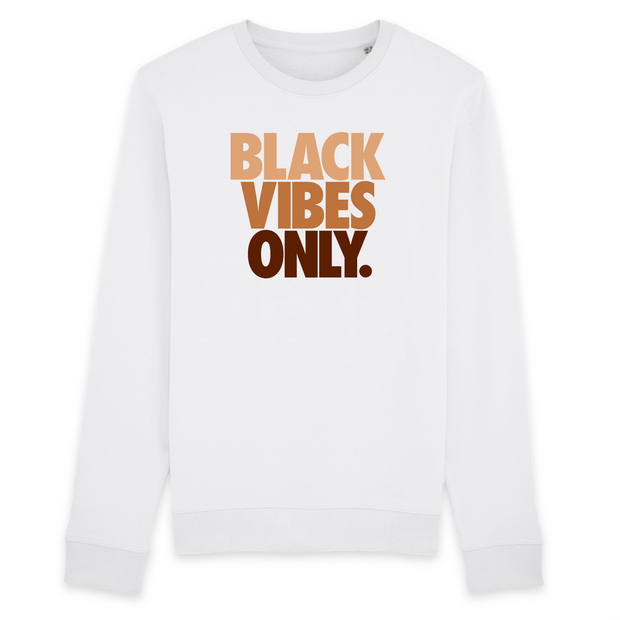 SWEATSHIRT SIORS®  BLACK VIBES ONLY - SIORSCLOTHING