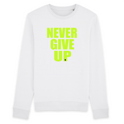 SWEAT-SHIRT COL ROND 100% ORGANIC 🌿 SIORS® NEVER GIVE UP - SIORSCLOTHING