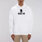 HOODIE BLANC SIORS® HIPPO - SIORSCLOTHING
