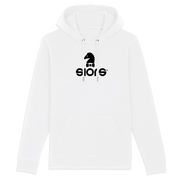 HOODIE BLANC SIORS® HIPPO - SIORSCLOTHING Vétements