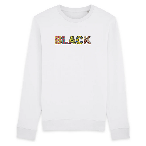 SWEATSHIRT SIORS® BLACK WAX - SIORSCLOTHING