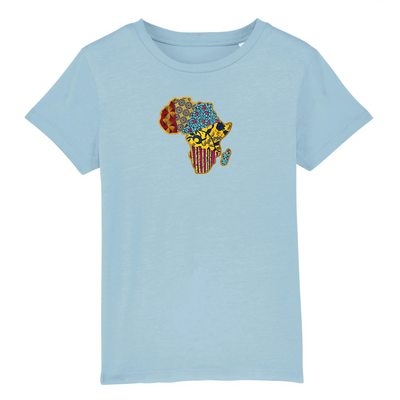 T-SHIRT SIORS® KID'S AFRICA WAX - SIORSCLOTHING Vétements