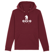HOODIE BORDEAUX SIORS® HIPPO - SIORSCLOTHING