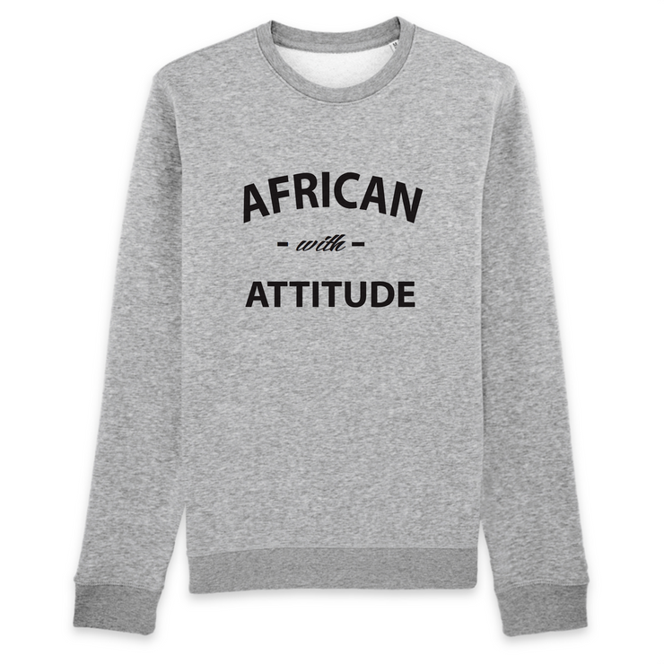 SWEATSHIRT SIORS® AFRICAN WITH ATTITUDE - SIORSCLOTHING Vétements