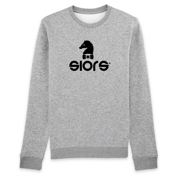 SWEAT COL ROND UNISEX 100% ORGANIC🌿SIORS® HIPPO - SIORSCLOTHING