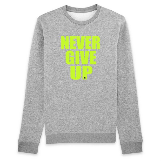 SWEATSHIRT SIORS® NEVER GIVE UP - SIORSCLOTHING