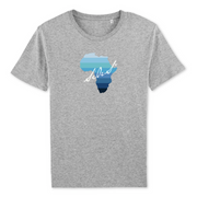 T-SHIRT  SIORS® AFRISHADE BLUE - SIORSCLOTHING Vétements