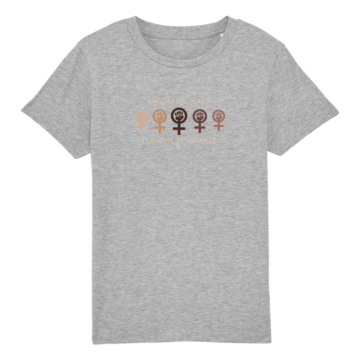T-SHIRT SIORS® KID'S WOMAN'S RESISTANCE - SIORSCLOTHING