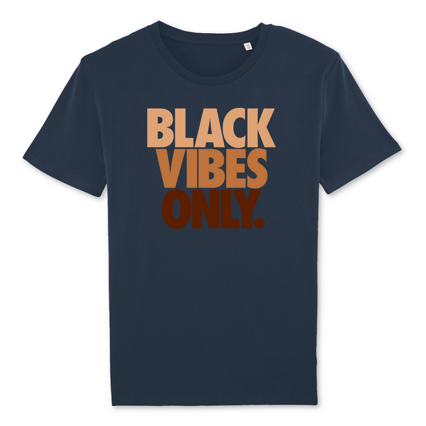 T-SHIRT SIORS® BLACK VIBES ONLY - SIORSCLOTHING