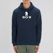 HOODIE BLEU SIORS® HIPPO - SIORSCLOTHING