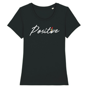 T-SHIRT FEMME SIORS® POSITIVE LIPSTICK - SIORSCLOTHING