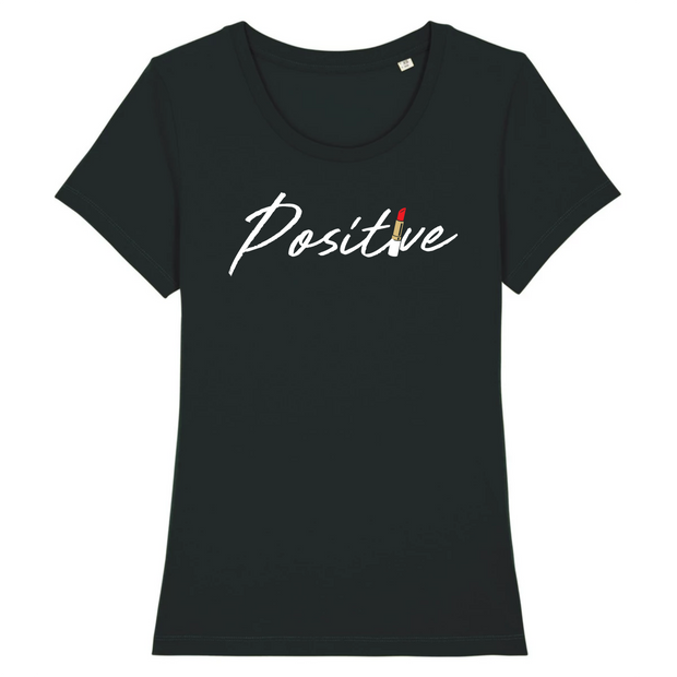 TEE SHIRT FEMME 100% ORGANIC 🌿 SIORS® POSITIVE LIPSTICK - SIORSCLOTHING
