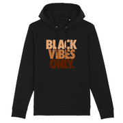 HOODIE NOIR SIORS® BLACK VIBES ONLY - SIORSCLOTHING Vétements