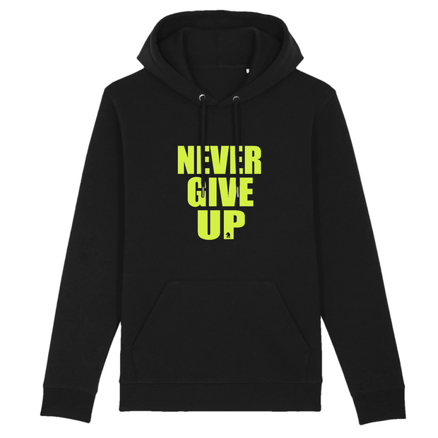 HOODIE   SIORS® NEVER GIVE UP - SIORSCLOTHING