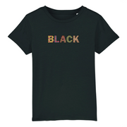 T-SHIRT SIORS® KID'S BLACK WAX - SIORSCLOTHING Vétements