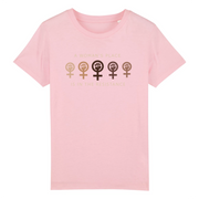 TEE SHIRT ENFANTS  SIORS® WOMAN'S RESISTANCE - SIORSCLOTHING Vétements