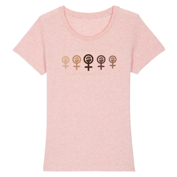 T-SHIRT FEMME SIORS® WOMAN'S RESISTANCE - SIORSCLOTHING