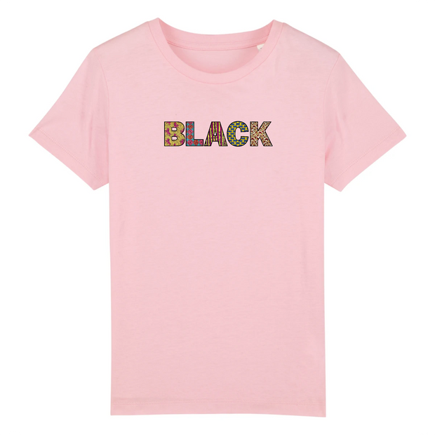 T-SHIRT SIORS® KID'S BLACK WAX - SIORSCLOTHING