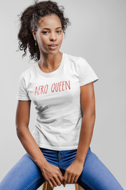 TEE SHIRT UNISEX 100% ORGANIC 🌿 SIORS® AFRO QUEEN - SIORSCLOTHING