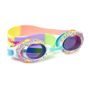 Cake Pop Swim Goggles - Whoopie Pie Brights