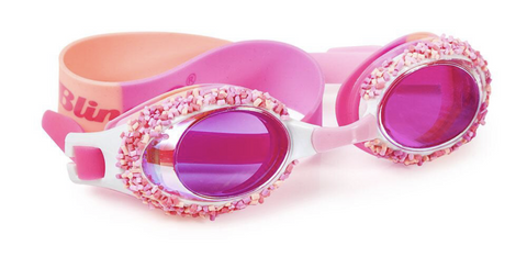 Cake Pop Swim Goggles - Angel Cake Pink