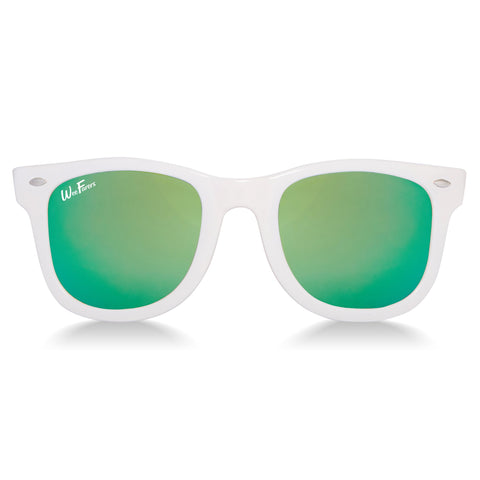 Polarized WeeFarers - White/Sea Green
