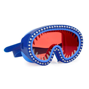 Shark Attack Mask Swim Goggles - Nibbles Red Lens