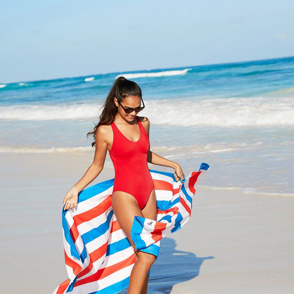 Cabana Beach Towel - American Dream