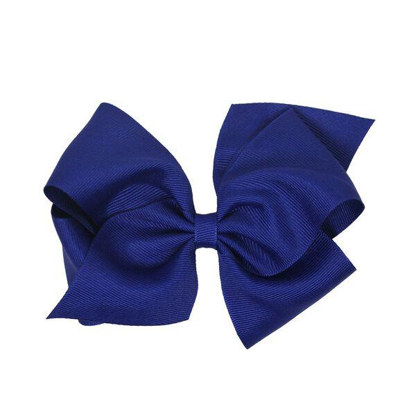 Royal Grosgrain Bow