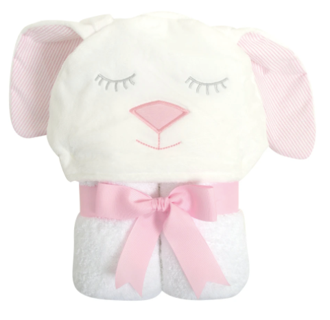 Bunny Character Towel - Pink