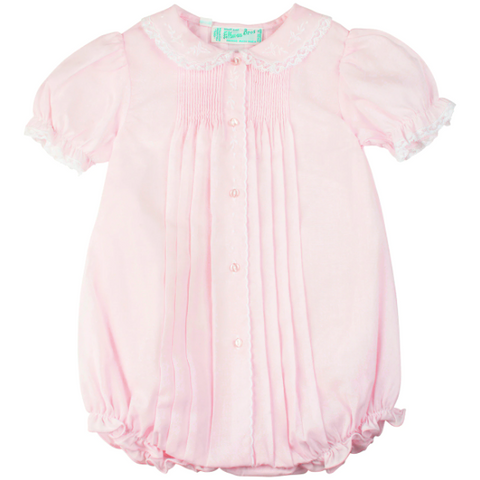 Scalloped Open Front Bubble - Pink