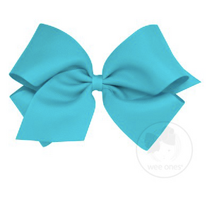 New Turquoise Grosgrain Bow