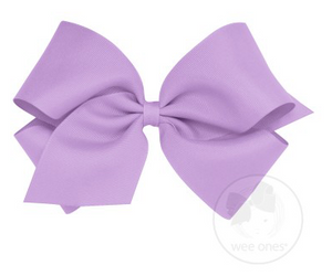 Light Orchid Grosgrain Bow