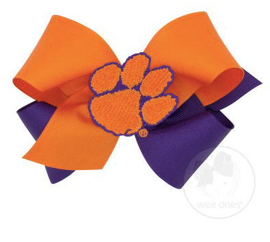 Clemson Patch on Clip