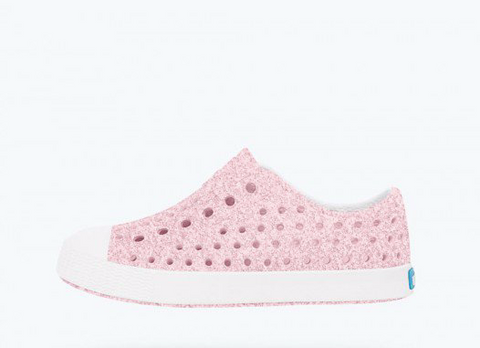 Jefferson - Milk Pink Bling/Shell White