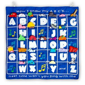 Now I Know My ABC's Chart- Blue