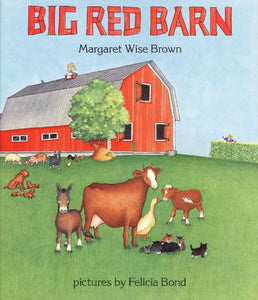 """Big Red Barn""- Hard Cover"