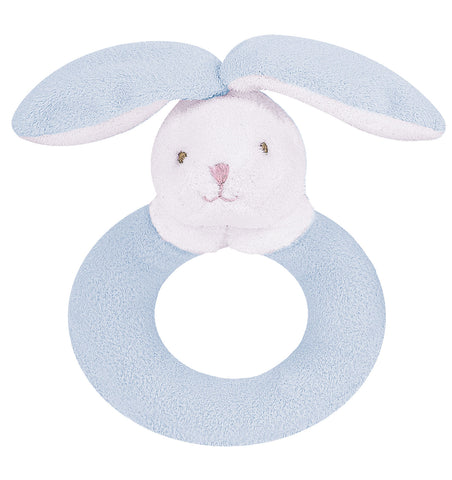 Ring Rattle- Blue Bunny