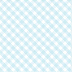 Scented Drawer Liners- Blue Gingham