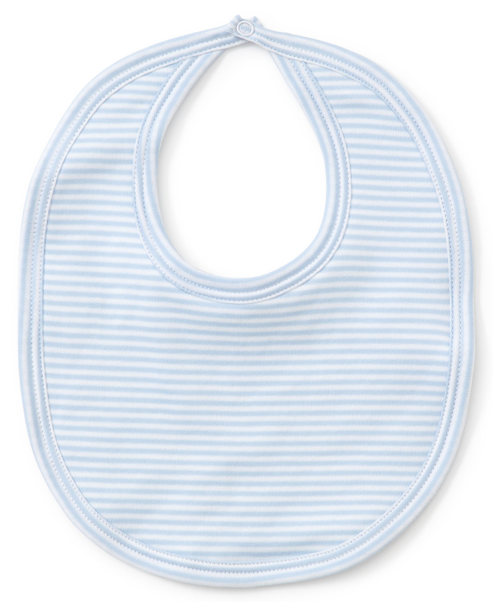 Stripes Bib- Light Blue