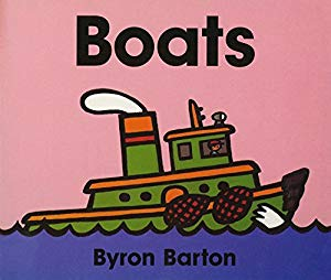 """Boats"" - Board Book"
