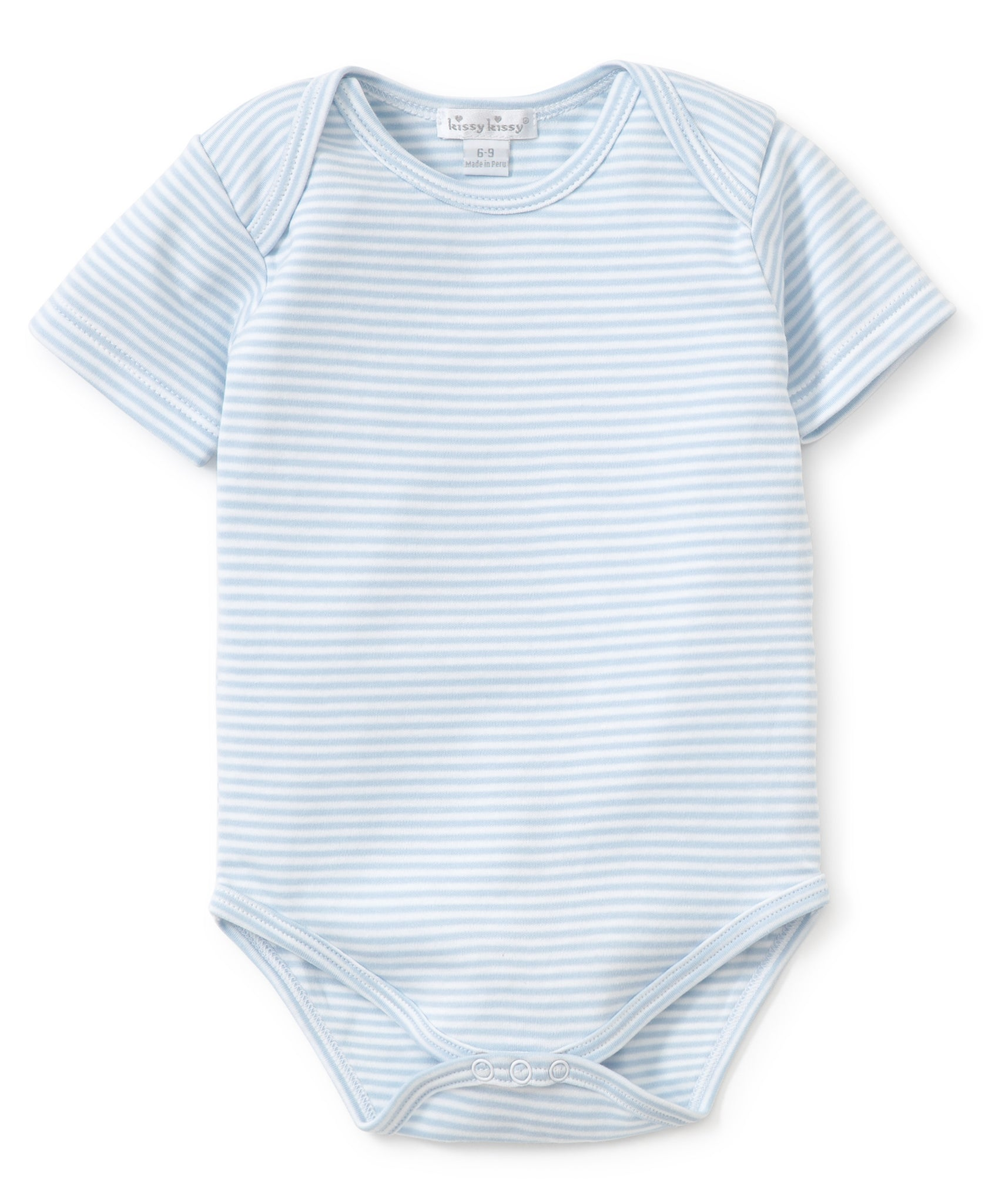 Onesie- Light Blue Stripes